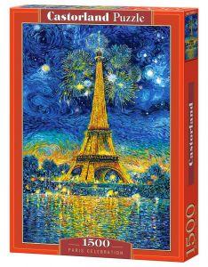 Castorland  Puzzle 1500 dílků  Ohňostroj v Paříži   151851
