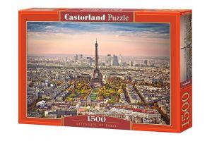 Castorland  Puzzle 1500 dílků  Panorama Paříže   151837
