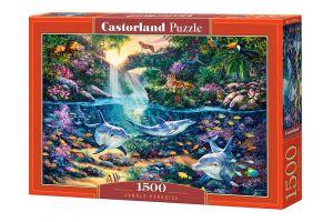 Castorland  Puzzle 1500 dílků  Ráj v džungli    151875