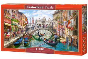 Castorland puzzle  4000 dílků  Kouzelné Benátky  400287