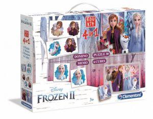 EDUKIT - hry Clementoni  -  4v1 Frozen  II