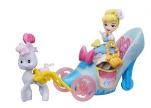 Hasbro - minisestava kočár s panenkou - Popelka
