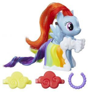 Hasbro - MLP - figurka Rainbow Dash na přehlídkovém molu