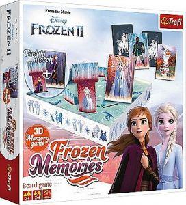 Hra Trefl  -  3D Memory game - Frozen II  - Ledové království   01753
