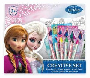 Jiri Models - Kreativní omalovánkový set - Frozen