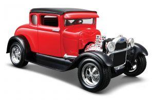 Maisto 1:24  1929  Ford  Model A  31201 - červená   barva