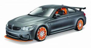 Maisto  1:24 Kit  BMW M4 GTS - model  ke skládání  - šedá  barva