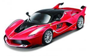 Maisto  1:24 Kit FERRARI  - Ferrari  FXX K - model  ke skládání  - červená  barva