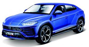 Maisto  1:24 Kit Lamborghini Urus - model  ke skládání  - modrá barva