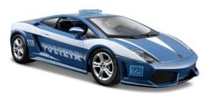 Maisto 1:24  Lamborghini  Gallardo LP560-4 policejní   31299 - modrá  barva
