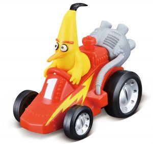 Maisto autíčko Angry Birds CRASHERS - Chuck´s Rocket Kart
