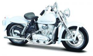 Maisto Harley Davidson 1952 K Model  1:18 white