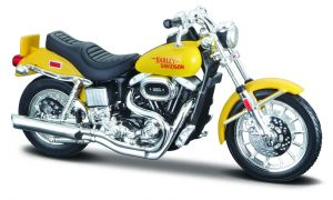 Maisto Harley Davidson 1977 FXS Low Rider 1:18 yellow