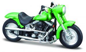 Maisto Harley Davidson 2000 FLSTF Street Stalker  1:18 green