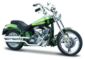 Maisto Harley Davidson 2004 FXSTDSE CVO  1:18 green