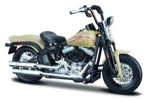 Maisto Harley Davidson 2008 FLSTSB Cross Bones 1:18 beige