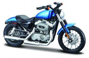Maisto Harley Davidson  2012 XL 1200N Nighster 1:18 blue
