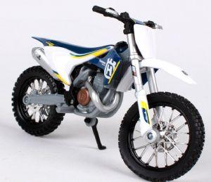 Maisto  motorka bez podstavce  - Husqvarna FC 450 1:18