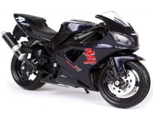 Maisto  motorka bez podstavce  -  Yamaha  YZF-R1  1:18  černá