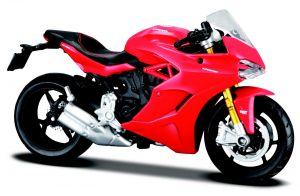 Maisto  motorka na stojánku - Ducati Supersport  1:18  červená