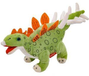 Plyšový dinosaurus - Stegosarus sv. zelený   30 cm velký plyšák  12941