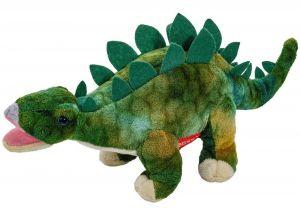 Plyšový dinosaurus - Stegosarus tm. zelený   30 cm velký plyšák  12942
