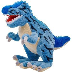 Plyšový dinosaurus - Tyrannosaurus  modrý    30 cm velký plyšák  12937