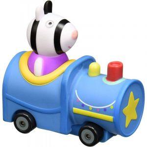 Prasátko Peppa - mini vozidlo  - mašinka se zebrou Zoe