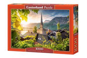 Puzzle Castorland  1000 dílků - Hallstatt - pohlednice    104543