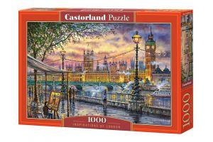 Puzzle Castorland  1000 dílků - Inspirace Londýnem   104437
