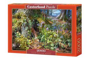 Puzzle Castorland 2000 dílků  Ruský les   200764