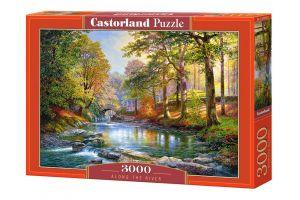 Puzzle Castorland 3000 dílků  - Podél řeky  300532