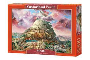 Puzzle Castorland 3000 dílků  - Věž Babel  300563