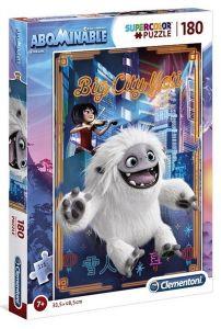 Puzzle Clementoni 180 dílků  -  Abominable - sněžný kluk 29766
