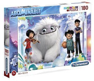 Puzzle Clementoni 180 dílků  -  Abominable - sněžný kluk 29764