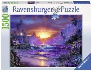 puzzle Ravensburger 1500 dílků  -  Východ slunce  163595