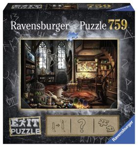 puzzle Ravensburger 759 dílků - Exit - Dračí laboratoř  199549