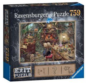 puzzle Ravensburger 759 dílků - Exit - Kouzelnická kuchyně  199525
