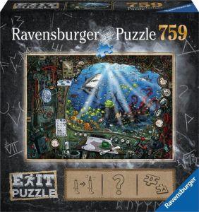 puzzle Ravensburger 759 dílků - Exit - Ponorka 199532
