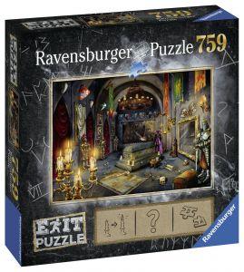 puzzle Ravensburger 759 dílků - Exit - Upíří hrad  199556