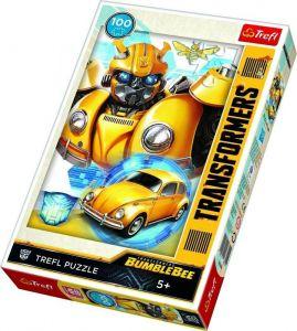 Trefl Puzzle 100 dílků - Transformers - Bumblebee  -  16355