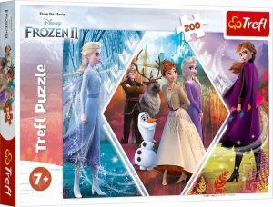 TREFL Puzzle  200 dílků  Frozen II - Sestry v ledovém království   13249