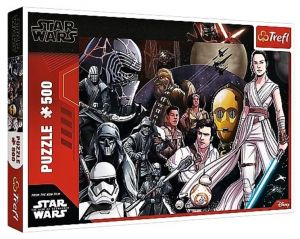 TREFL Puzzle  500 dílků -  Star Wars Epizoda IX  37375