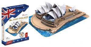 3D puzzle CubicFun Opera  v  Sydney - velká sest.  85 dílků