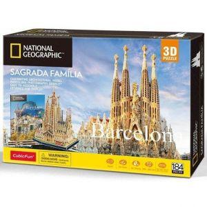 3D puzzle CubicFun  Sagrada Familia  184 dílků NG