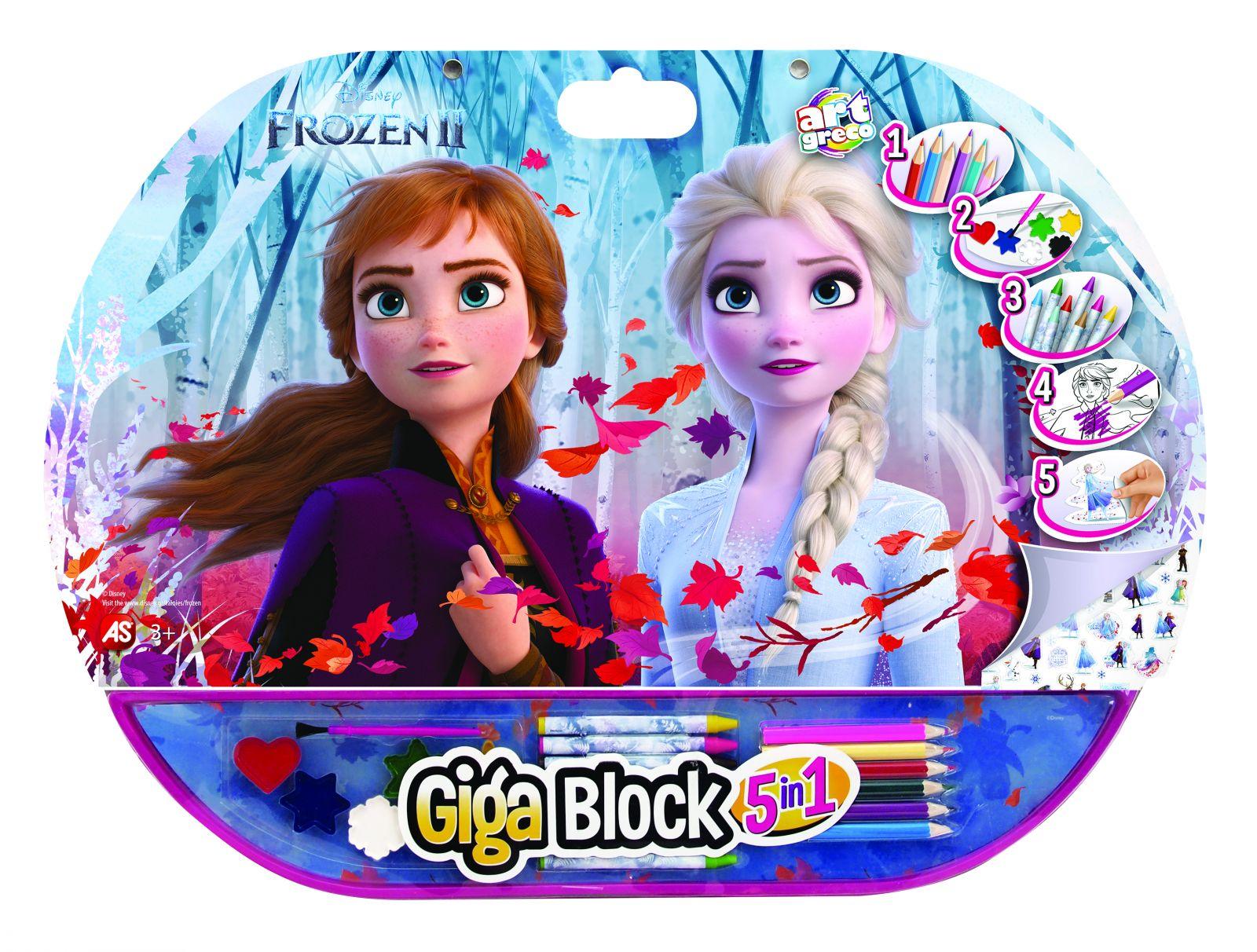 AS - set 5v1 pro malého umělce - Frozen II AS Company