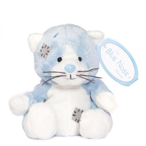 CARTE BLANCHE - My blue nose - modrá Kočka 10 cm plyšová