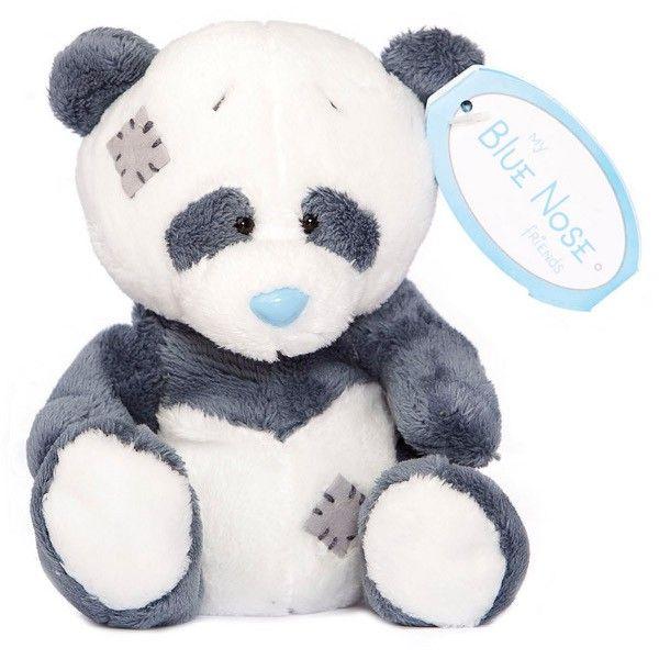 CARTE BLANCHE - My blue nose - Panda 10 cm plyšová