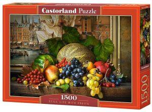 Castorland  Puzzle 1500 dílků  Zátiší s ovocem  151868