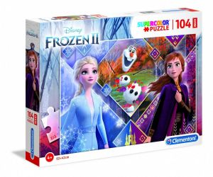 Clementoni puzzle 104 dílků MAXI - Frozen  II  23739